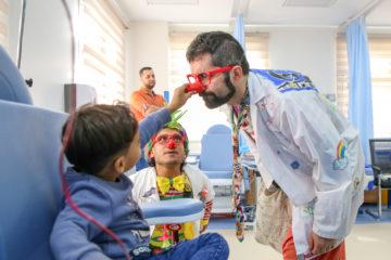 clown in ospedale