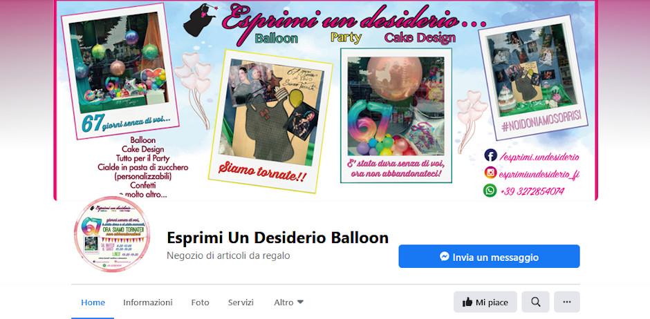 Siti amici - Esprimi un desiderio Baloon