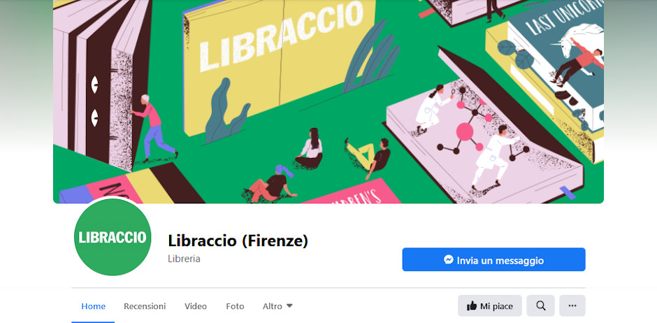Siti amici - la pagina facebook del libraccio di Firenze