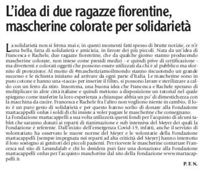 ToscanaOggi - 20 Mar 2020