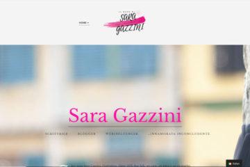Il blog di Sara Gazzini